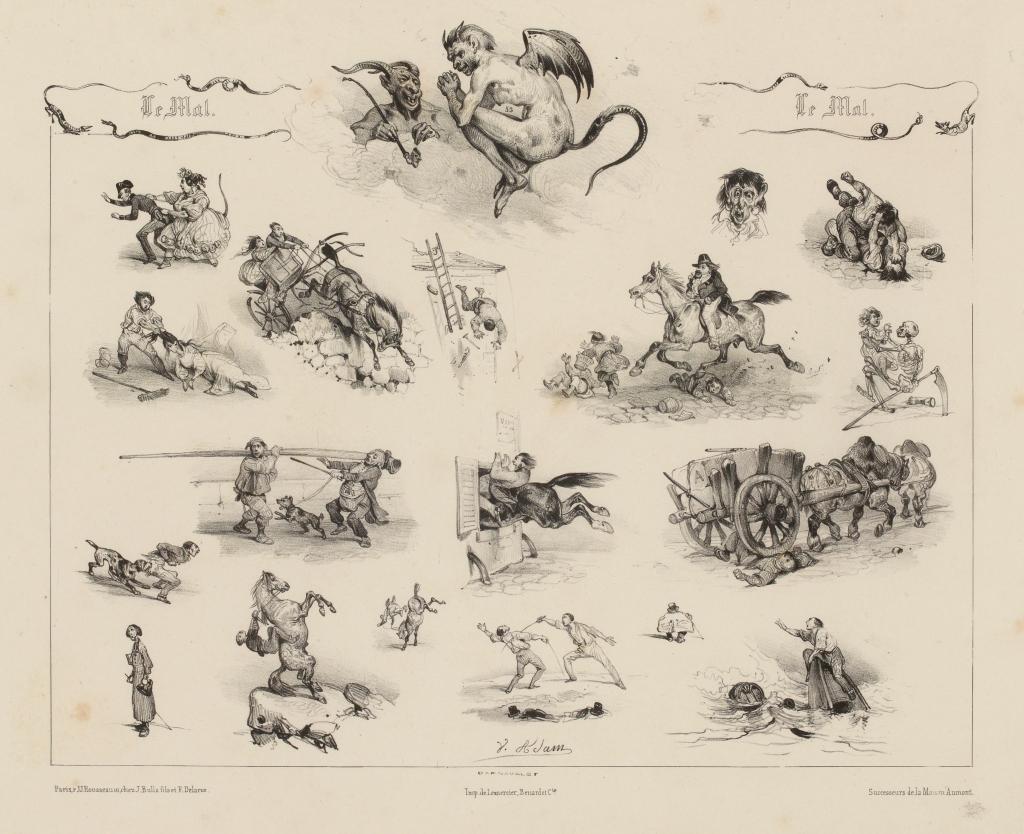Adam, Victor (Jean-Victor Adam, dit) , Dessinateur-lithographe Bulla, Joseph , Editeur Delarue, François , Editeur Lemercier, Bénard et Cie , Imprimeur-lithographe