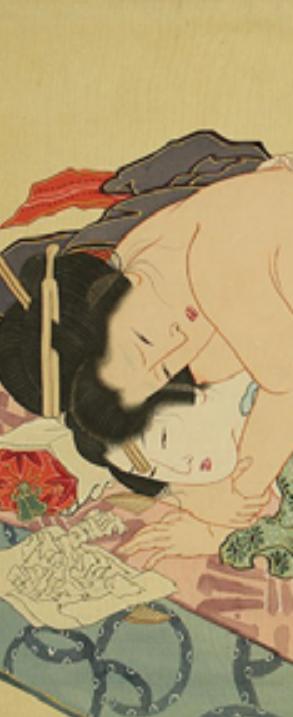 Katsushika Hokusai, shunga