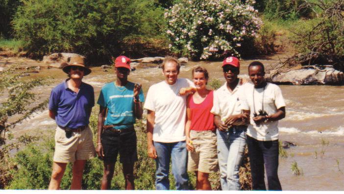 Kenya wildlife safari with Michael Rainey for St Lawrence University