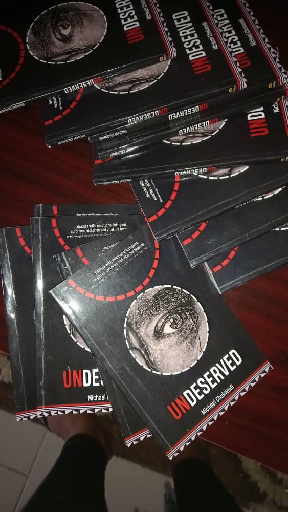 book cover Undeserved by Michael Chukwudi